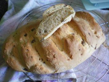 Brot: Olivenbrot - Rezept