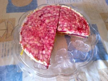 Rezept: Stachelbeertorte mit Vanillecreme