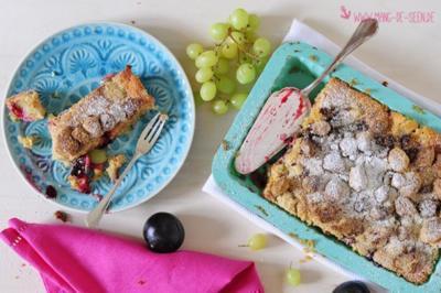 Sommerfrüchtekuchen mit Streuseln - Rezept