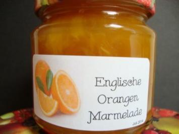 Englische Orangenmarmelade - Rezept
