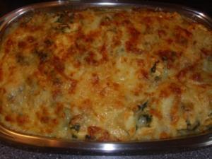 Tortelini-Spinat Auflauf - Rezept