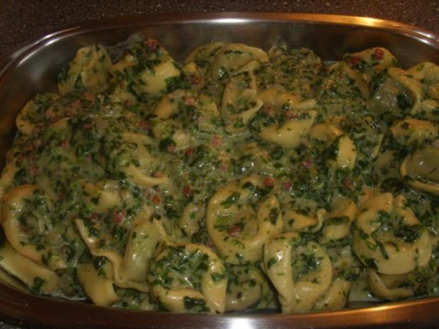 Tortelini-Spinat Auflauf - Rezept - Bild Nr. 6