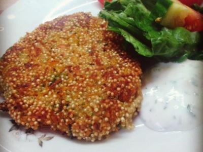 Quinoa-Bratlinge - Rezept