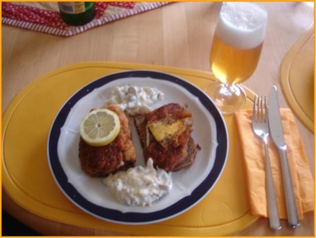Schnitzelbrot mit Tatarsauce *) - Rezept - Bild Nr. 2