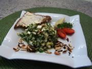 Erfrischender Zucchinisalat - Rezept