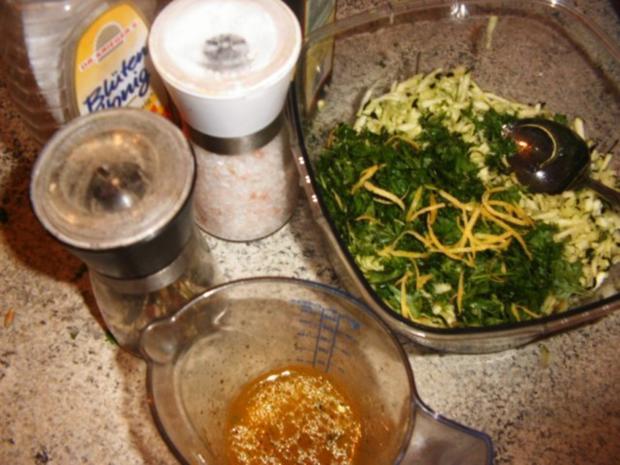 Erfrischender Zucchinisalat - Rezept - Bild Nr. 4