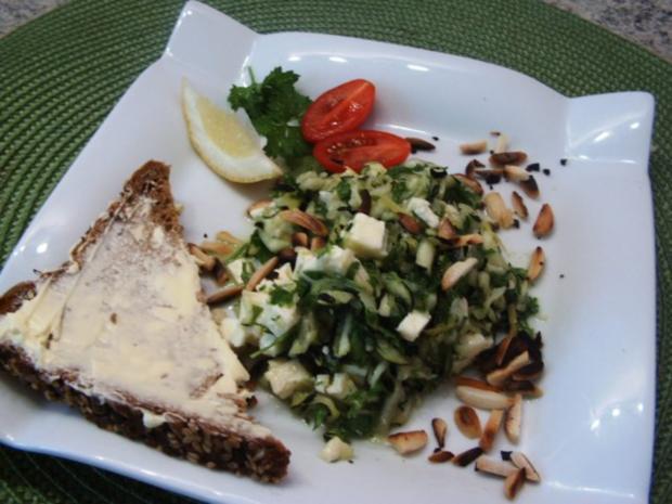 Erfrischender Zucchinisalat - Rezept - Bild Nr. 7