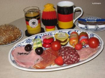 Wir sind Weltmeister - Frühstück - Rezept