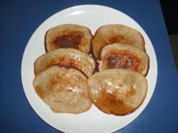 Banana Pan Cake mit Ahornsirup - Rezept