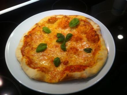 Pizza Margarita - Rezept