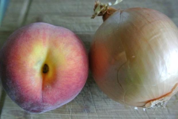 Pfirsich-Hackfleisch-Auflauf - Rezept