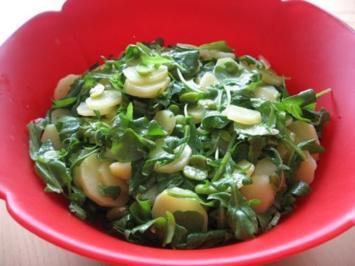Kartoffelsalat in Grün - Rezept