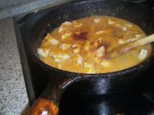 Hähnchenragout mit Aprikosen - Rezept