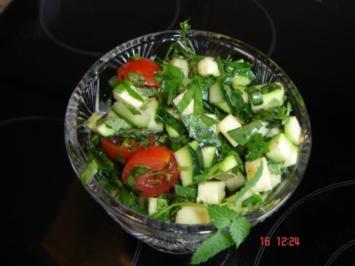 Wrightley`s Gartensalat - Rezept
