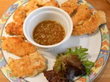 Hähnchensticks  in Honig-Senf-Sauce - Rezept