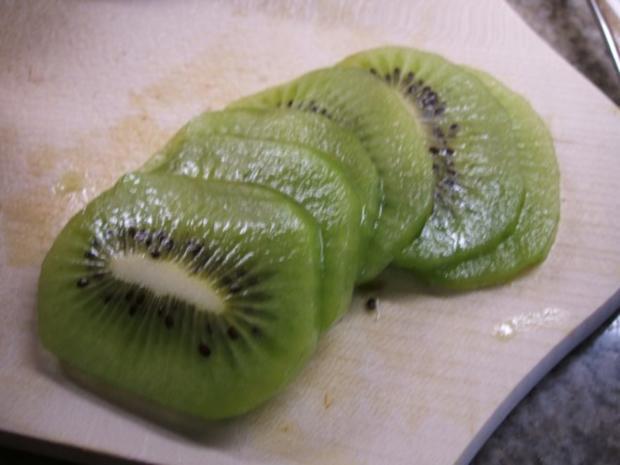 Backen: Mango-Kiwi-Schnitten - Rezept - Bild Nr. 8