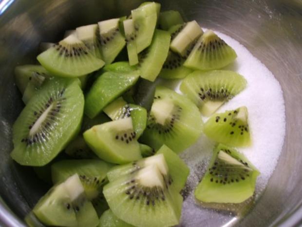 Backen: Mango-Kiwi-Schnitten - Rezept - Bild Nr. 9