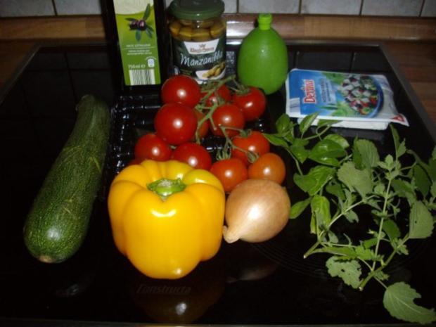 tomaten-zucchini-salat - Rezept - Bild Nr. 2