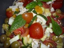 tomaten-zucchini-salat - Rezept