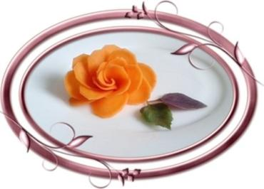 """Rezept: """"Möhren-Rose"""" selber machen"""