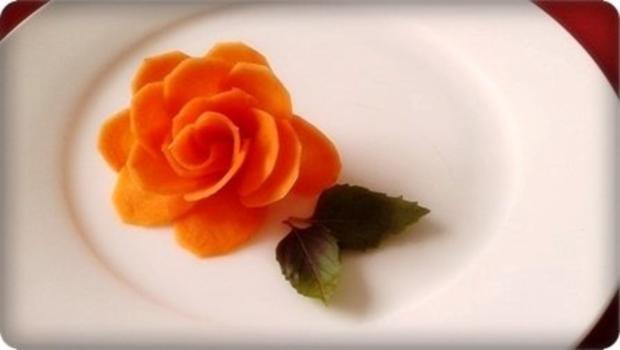 """""""Möhren-Rose"""" selber machen - Rezept - Bild Nr. 2"""