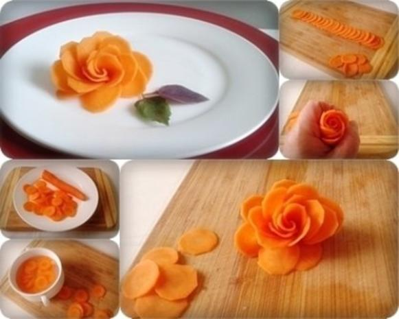 """""""Möhren-Rose"""" selber machen - Rezept - Bild Nr. 12"""