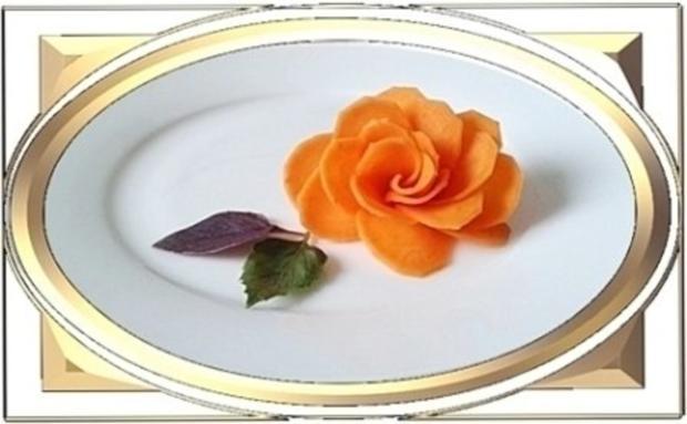 """""""Möhren-Rose"""" selber machen - Rezept - Bild Nr. 14"""