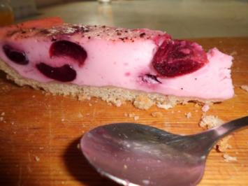 "Kuchen: Kirsch-Dinkel-Tarte ""Rosenrot"" - Rezept"
