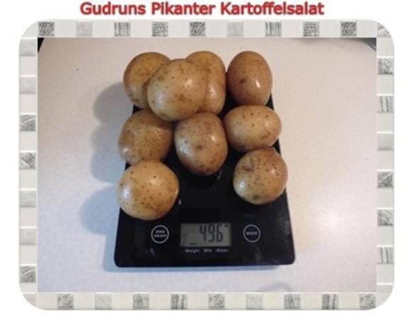 Salat: Pikanter Kartoffelsalat - Rezept - Bild Nr. 2
