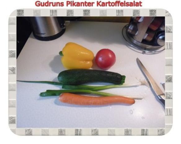 Salat: Pikanter Kartoffelsalat - Rezept - Bild Nr. 5