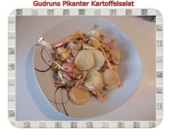 Salat: Pikanter Kartoffelsalat - Rezept - Bild Nr. 12