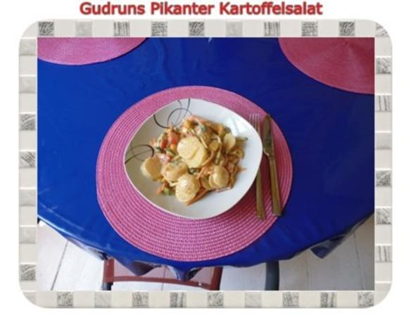Salat: Pikanter Kartoffelsalat - Rezept - Bild Nr. 13