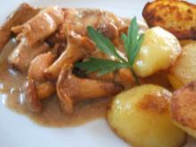 Fisch: Lachsragout mit frischen Pfifferlingen - Rezept
