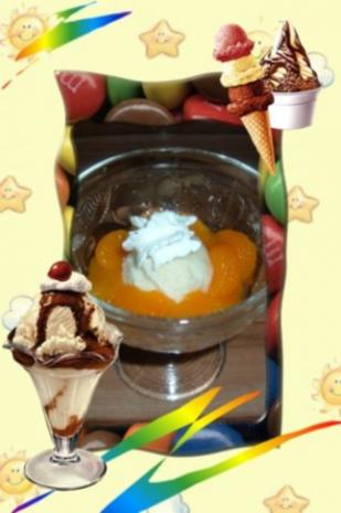 Eis : Holunder - Sahne - Rezept