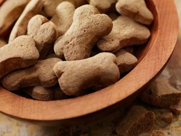 Rezept: Leberwurst-Hundekekse