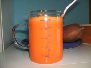 Sehr erfrichender Vitamin-Saft - Rezept