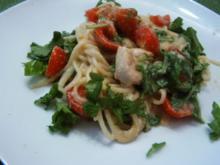 Rucola-Spaghetti - Rezept