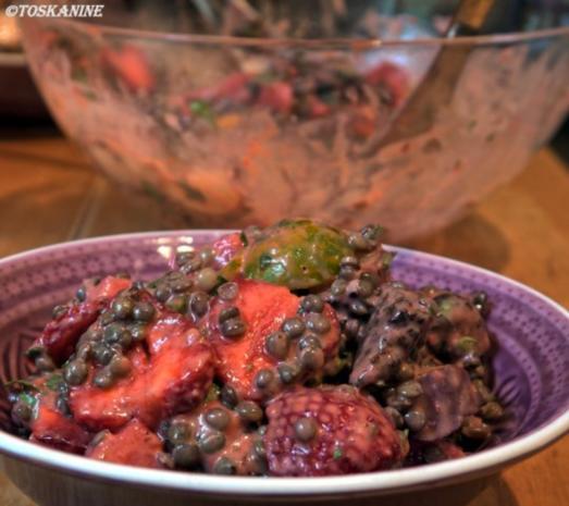 Sommerlich-fruchtiger Puy-Linsen-Salat - Rezept - Bild Nr. 14