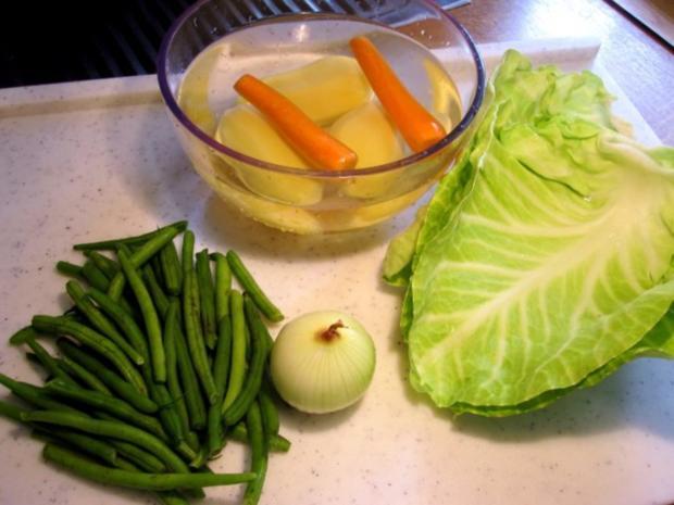 Grüne Bohnensuppe mit Ochsenschwanz ... - Rezept - Bild Nr. 2