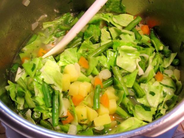 Grüne Bohnensuppe mit Ochsenschwanz ... - Rezept - Bild Nr. 5