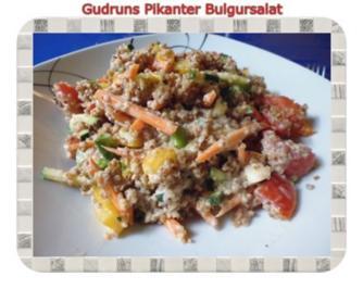 Salat: Pikanter Bulgursalat - Rezept