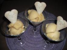 Aprikosen-Lavendel-Eis - Rezept