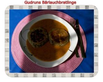 Rezept: Kartoffeln: Bärlauchbratlinge
