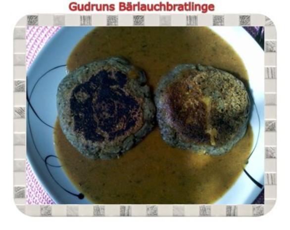 Kartoffeln: Bärlauchbratlinge - Rezept - Bild Nr. 2