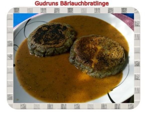 Kartoffeln: Bärlauchbratlinge - Rezept - Bild Nr. 3