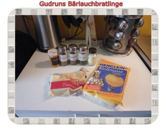 Kartoffeln: Bärlauchbratlinge - Rezept - Bild Nr. 4