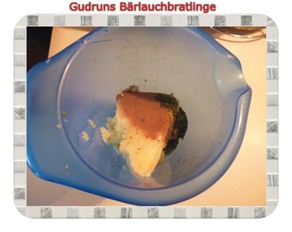 Kartoffeln: Bärlauchbratlinge - Rezept - Bild Nr. 6