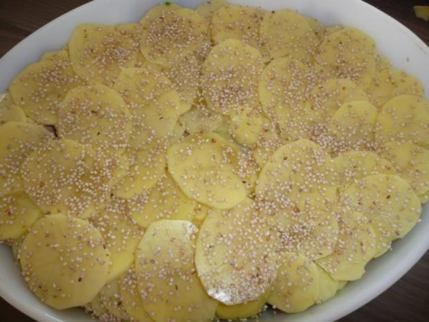 Gratin herzhaft : mit Weißkohl, Pizzawurst, Kartoffeln ! - Rezept - Bild Nr. 3