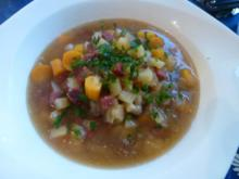 Mettwurst-Gemüsesuppe - Rezept