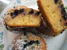 Backen: Heidelbeer-Muffins - Rezept